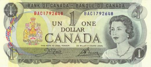 kanadský dollar canada