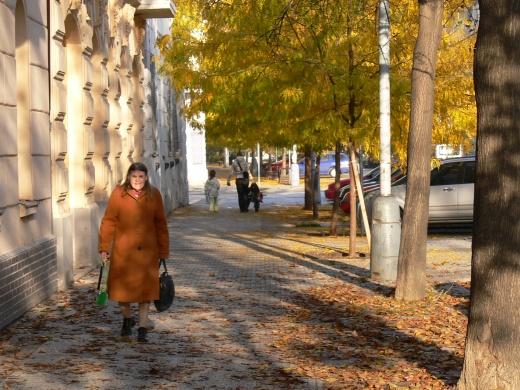 podzim karlín