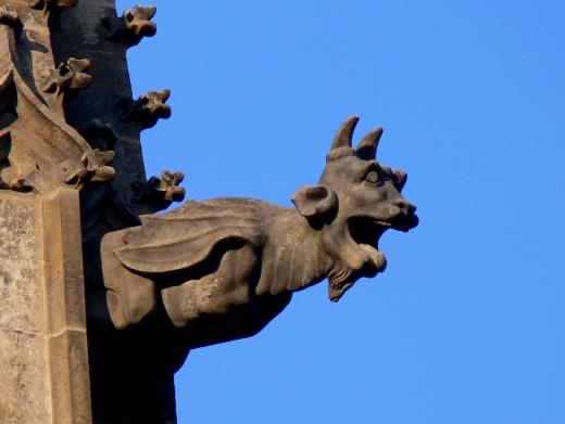 gotika chrlic kozel