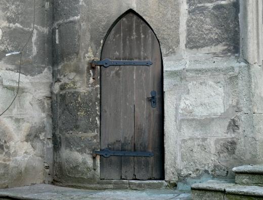 dvere stare kutna hora sv.jakub