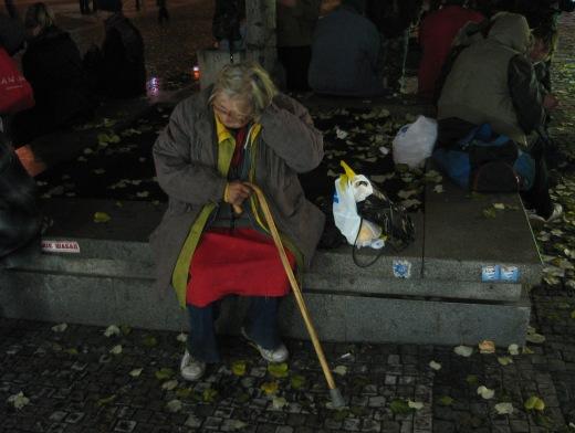 bezdomovci václavák